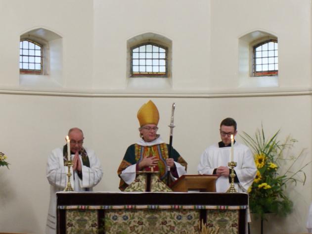 Bishop Gregor Visiting