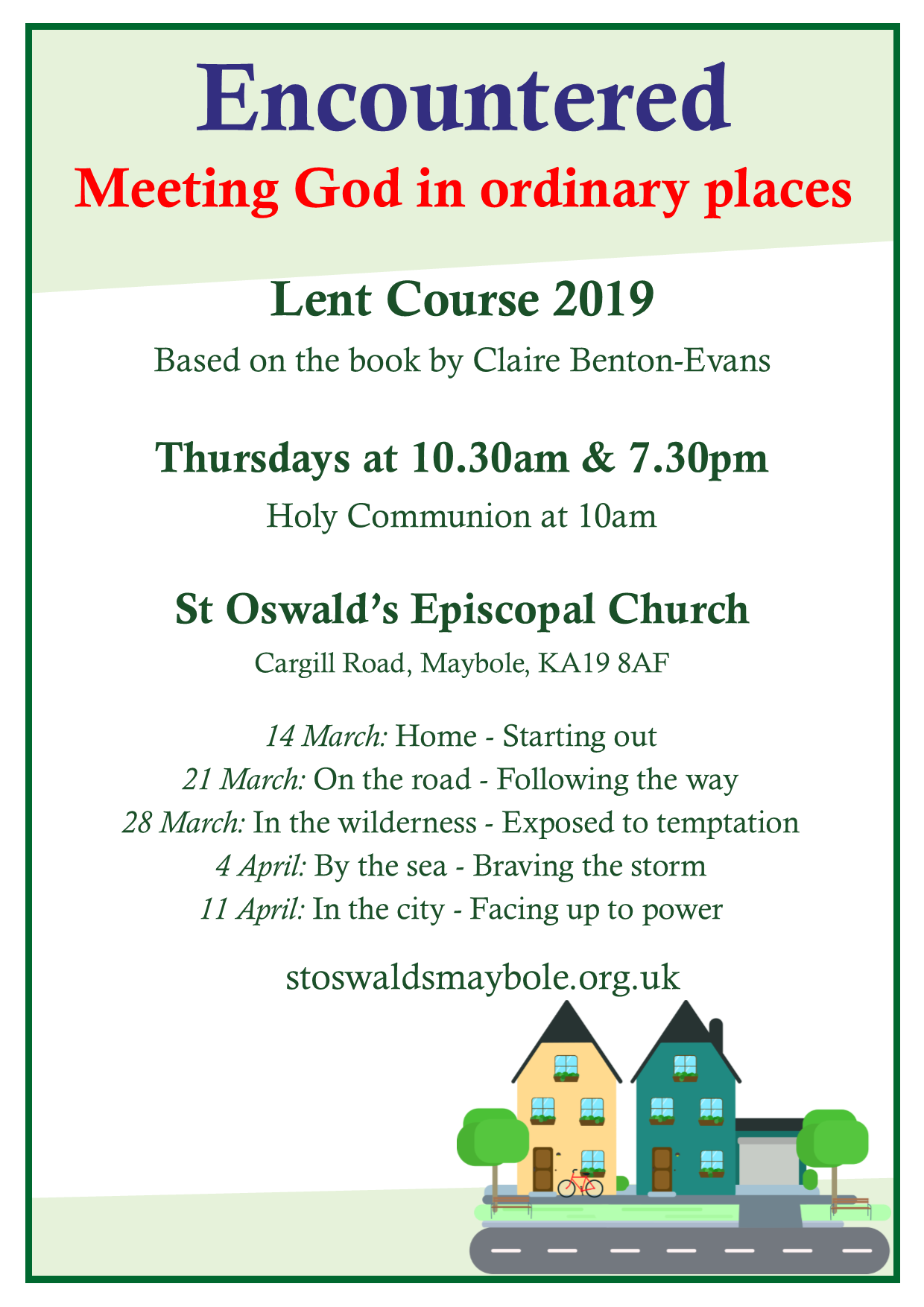 Lent Course @ St Oswald's Church
