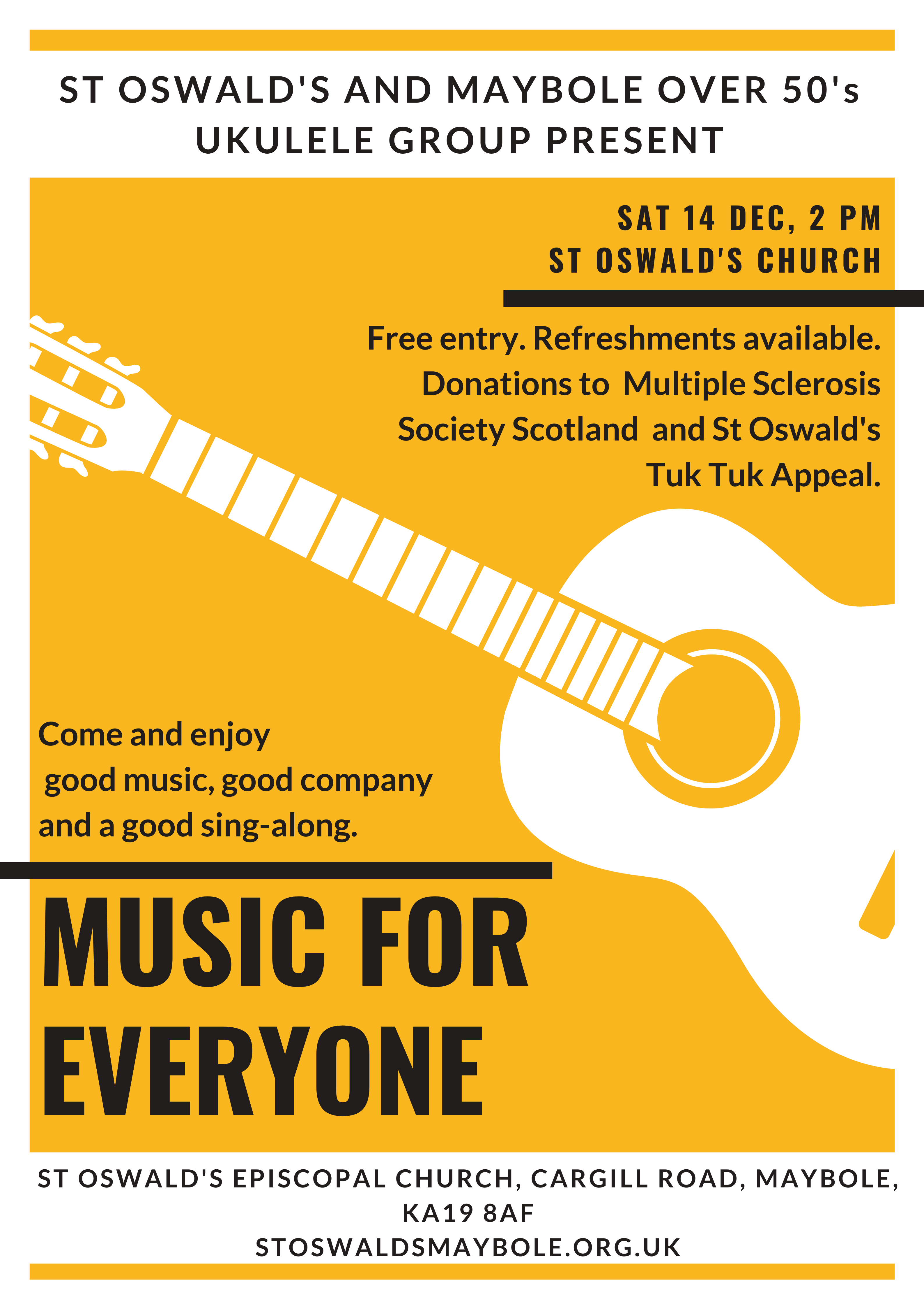 Music for Everyone @ St Oswald's Church